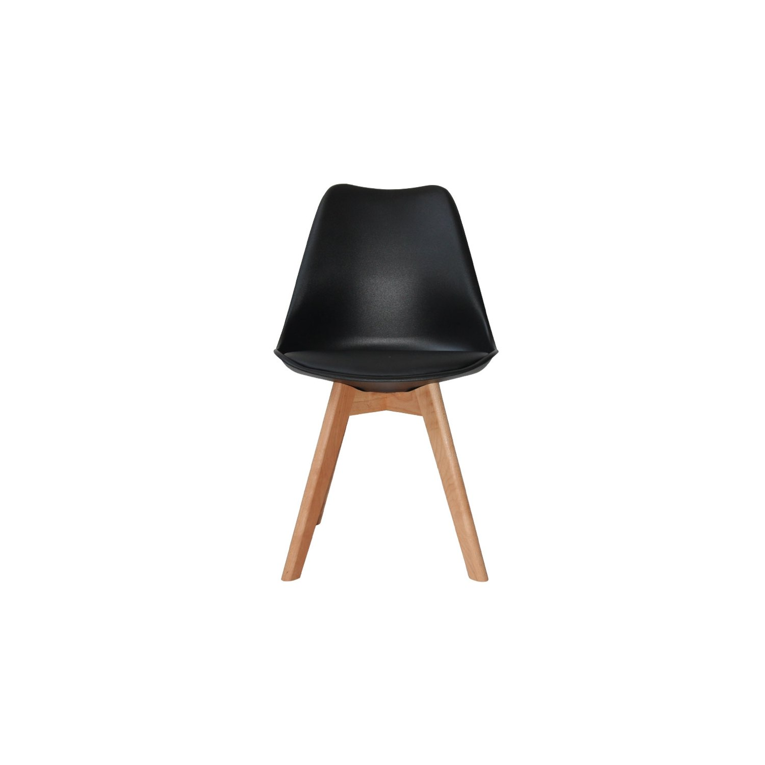 chaise new tower wood noire acheter online chaise tower. Black Bedroom Furniture Sets. Home Design Ideas