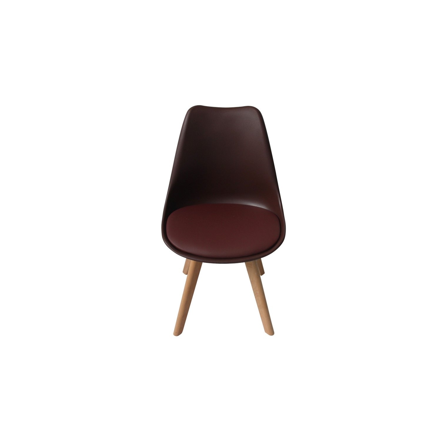 Silla new tower chocolate silla tower online sillas for Sillas de diseno online