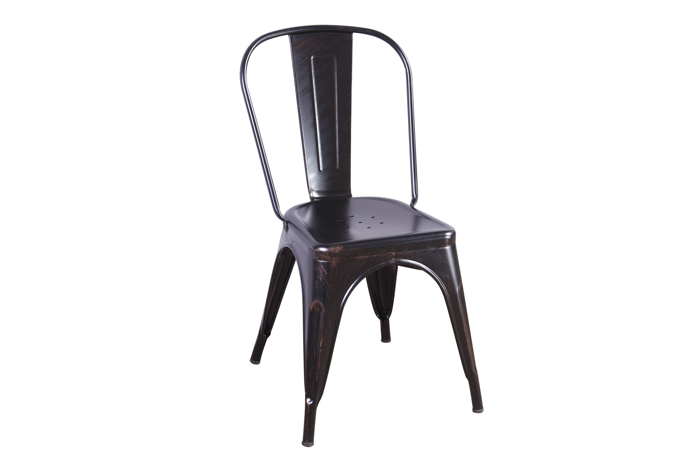 CHAISE LANK OLD NOIRE