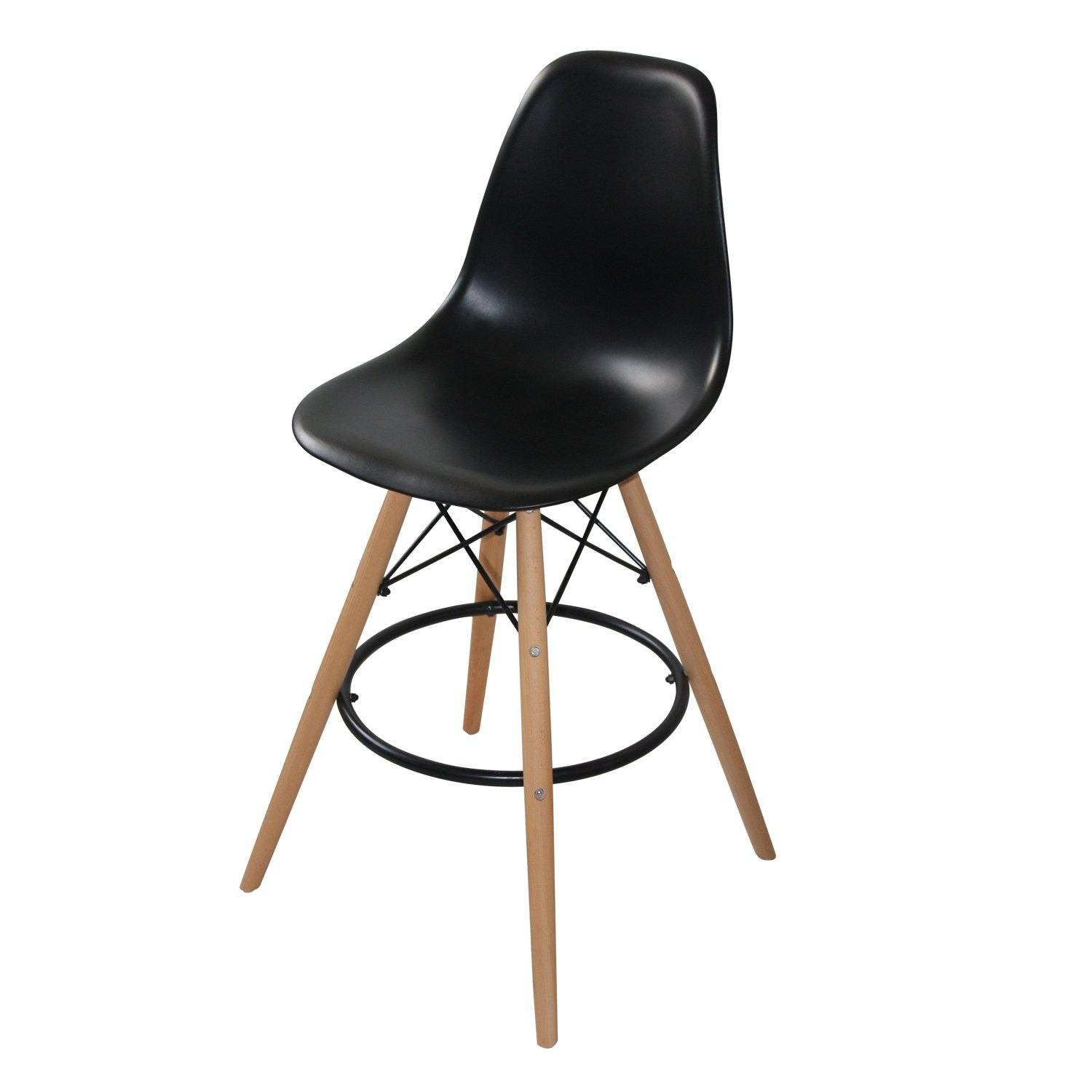Sgabello tower wood comprare sgabelli eames online for Comprare sedie