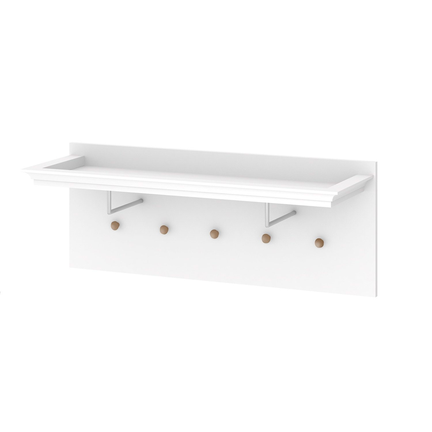 f652dbf69ff Comprar perchero de pared blanco de madera