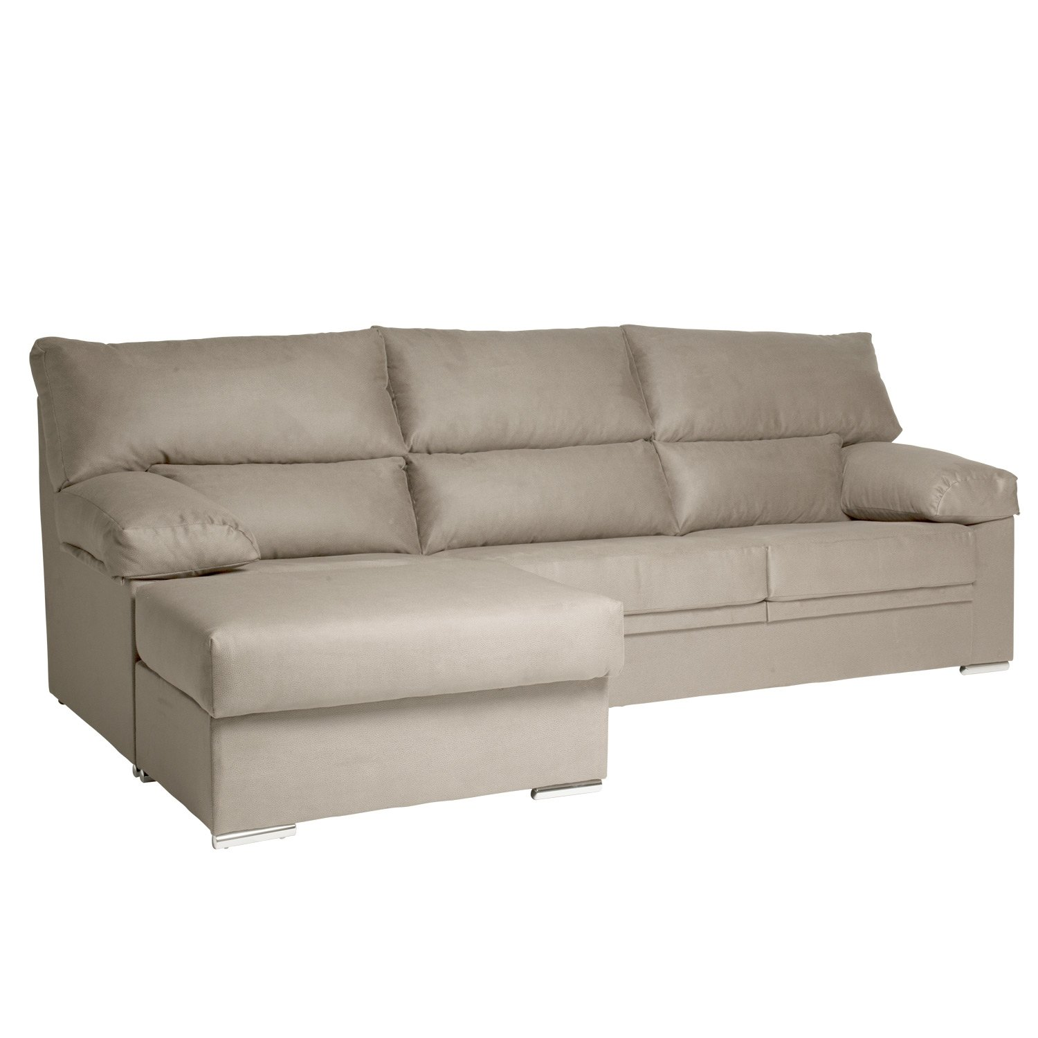 Divano 3 e 2 posti con chaise longue arl s in offerta for Chaise longue divano
