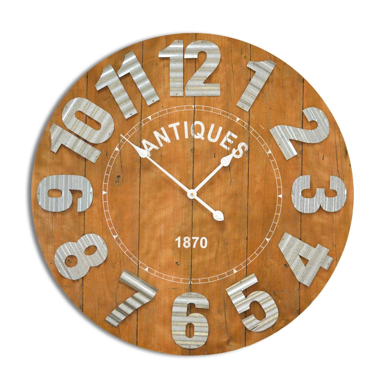 Reloj de pared antiq ventamueblesonline - Reloj de pared vinilo ...