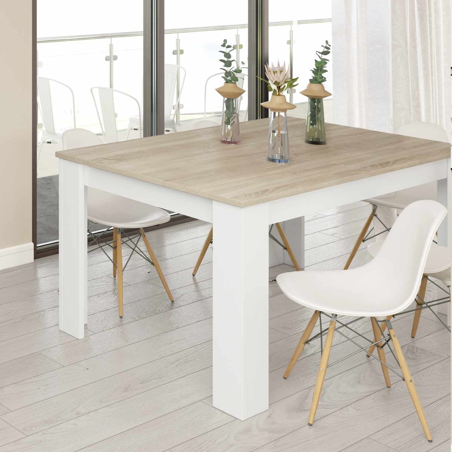 Image of: Mesa De Jantar Extensivel Nordik Vendamoveisonline